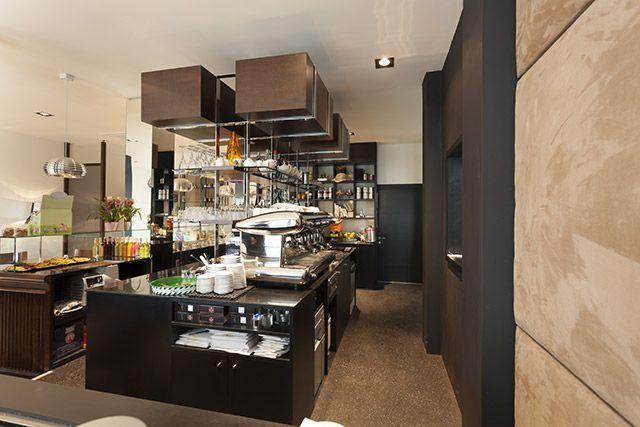 116 best interior design for cafe restaurants hotels images on pinterest diners restaurant - Interior designer bologna ...
