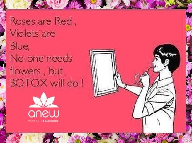 Tell your significant other what you really want for Valentines Day. Or better yet don't tell them and treat yourself with Botox for an Anew You! Call us today! #ANEWmedspa #anewyou #anewyou2017 #ANEW #anewbeginning #anewbeachwood #botox #fillers #juvederm #restylane #silkpeel #dermalinfusion #skincare #medspa #hairremoval #underarmsweating #coolsculpting #fatreduction #bodycontouring #freezethefat #freezefat http://ift.tt/2ld1x89