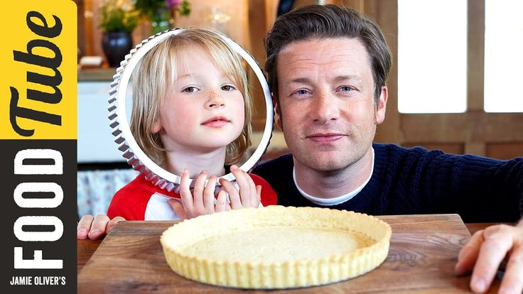 Why pay out for shop bought pastry when it's so easy to make your own? Jamie has a recipe for sweet, crumbly shortcrust pastry that's so easy even Buddy can ...