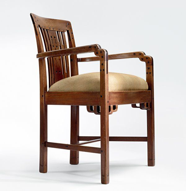 Living Room Armchair By Charles And Henry Greene For The Robert R. Blacker  House,