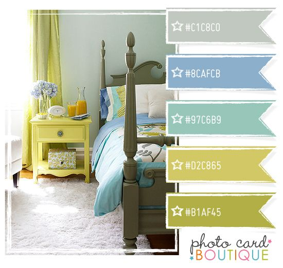#color Blue, green and aqua color palette: Colors Combos, Aqua Colors Palettes, Bedrooms Colors, Paintings Colors, Blue Green, Colors Schemes, Colors Blue, Colour Palettes, Colour Schemes