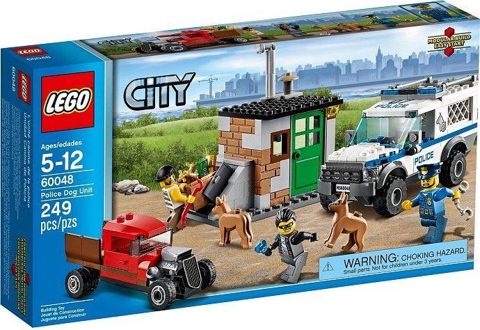 Lego CITY 60048 Jednotka s policejními psy - 0