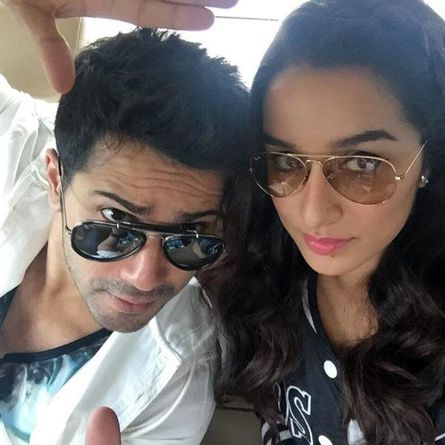 Varun Dhawan and Shraddha Kapoor promoting 'ABCD 2'.
