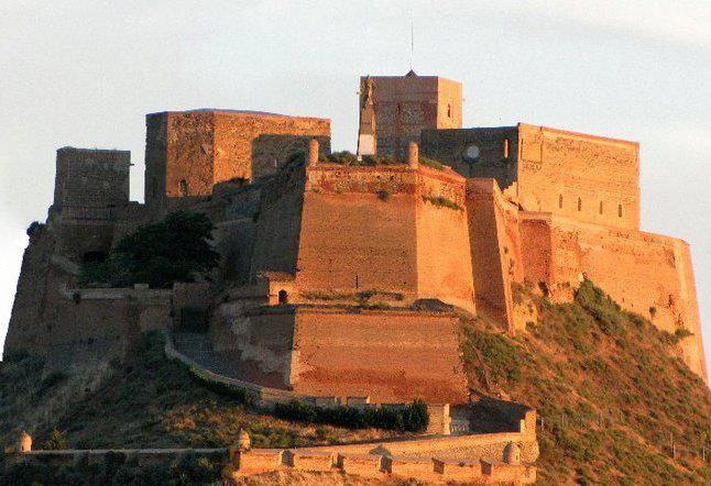 Castillo Templario de Monzón (Huesca).