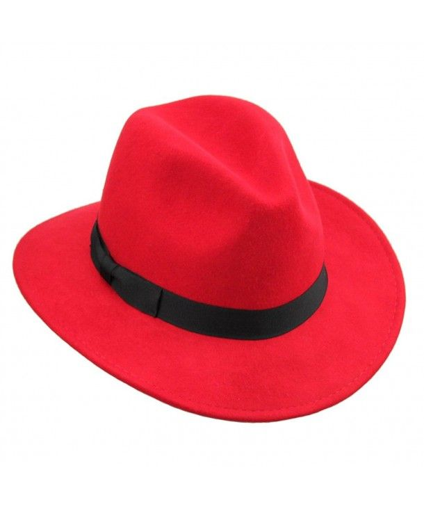 Red Hat Society Hat Crushable  Wide Brim Hat  NEW