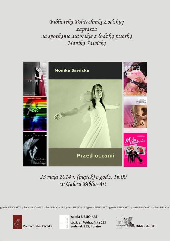 Spotkanie z Moniką Sawicką (23 maja 2014)