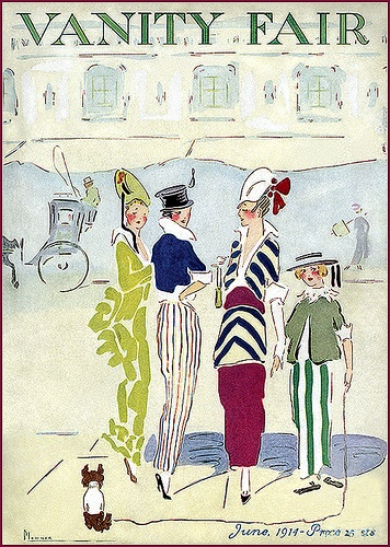 U.S.  Vanity Fair cover, June 1914