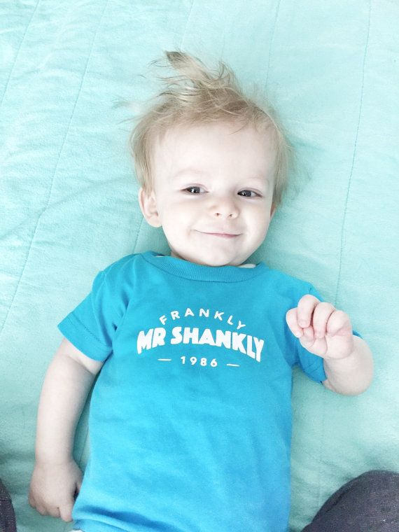The Smiths *toddler* Frankly Mr Shankly t-shirt.