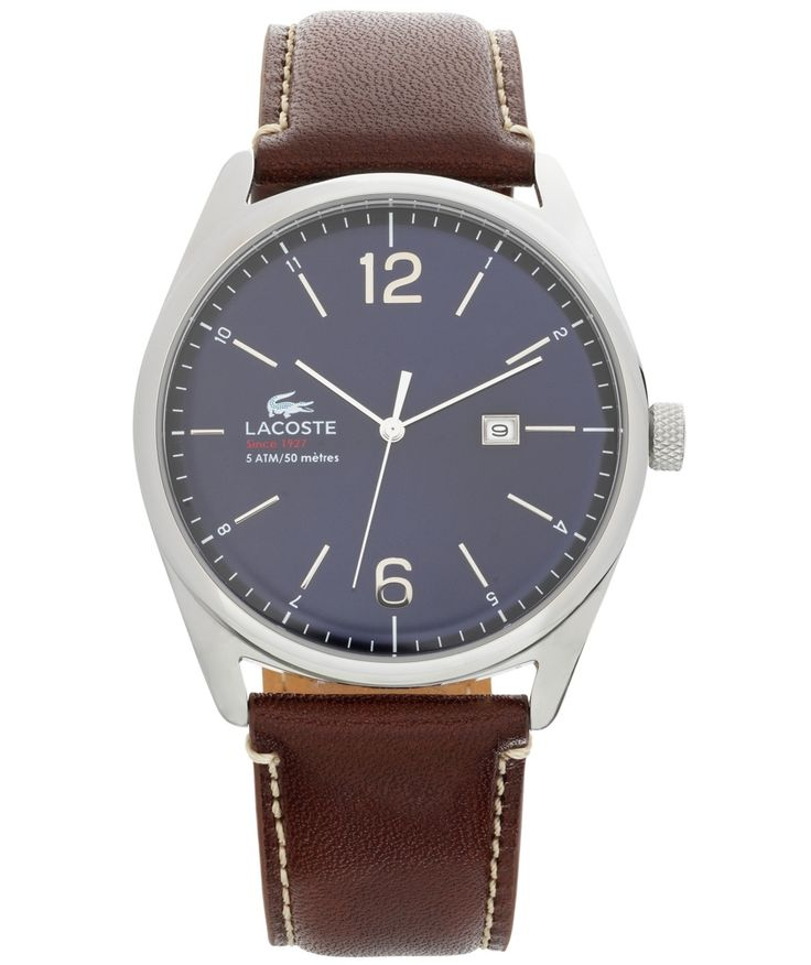 Buy Lacoste Mens' Austin Brown Analogue Strap Watch at Argos.co.uk - Your Online Shop for Men's watches.