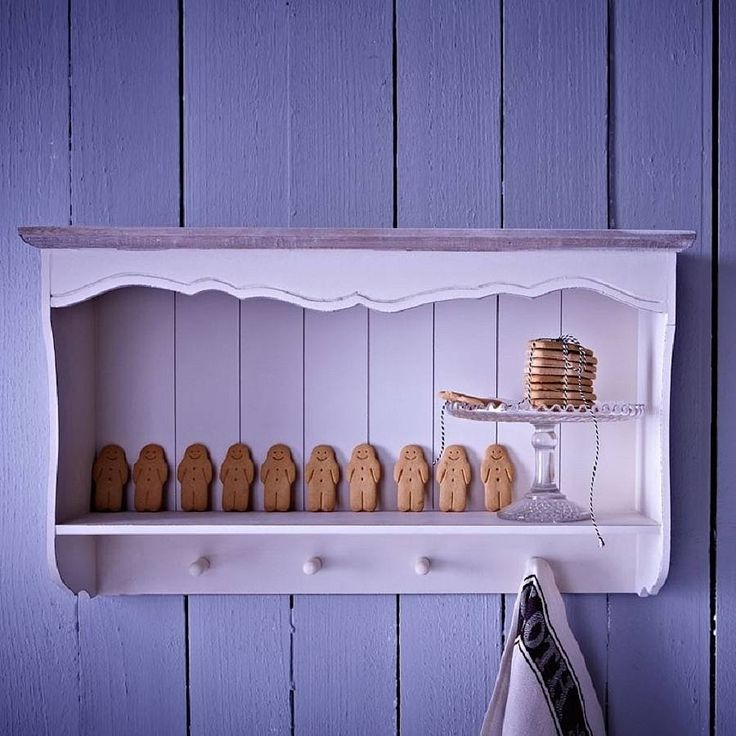 Brittany Cream Wall Shelves