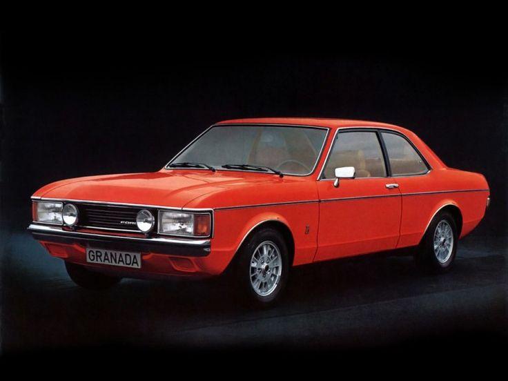 Ford Granada Coupe 1972 1977