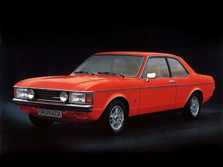 Ford Granada Coupe 1972-1977