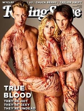 #TrueBlood: Cant Wait, True Blood, Rolls Stones Covers, Trueblood, Alexander Skarsgard, Anna Paquin, Annapaquin, Magazines Covers, Eric Northman