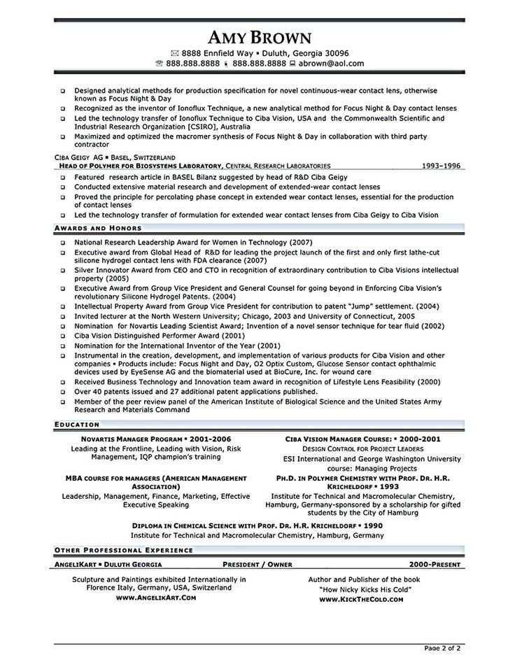 the 25 best project manager resume ideas on