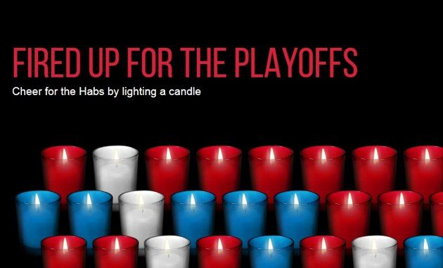When they say that hockey is a religion in Canada, it's not entirely hyperbole. The Catholic Church of Montreal has created an online mosaic where Canadiens fans can light virtual votive candles in support of their team. 04/2014