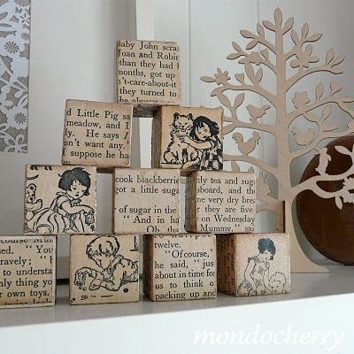 1000+ images about Wood Block Ideas on Pinterest | E books