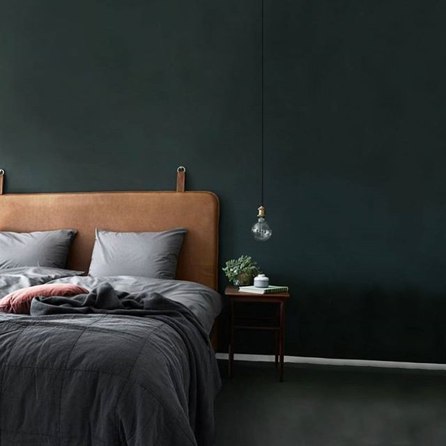 Minimalistic and yet perfect #them #headboard #madeindenmark #danishdesign #bedroom #heaven #sleep #hotel #chic #slowliving #hygge #chill #cozy #vacation #luxery #homedecor #inspiration #instahome #interiordesign #luxury #dreams #peace #design #leather #nordic