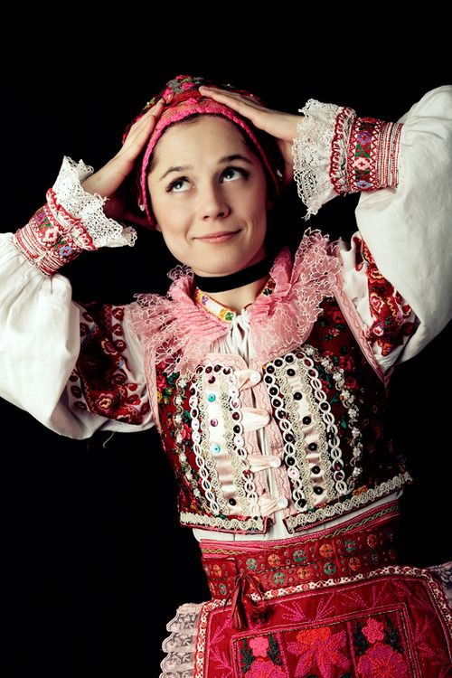 Traditional dress, Horehronie region, Central #Slovakia #folklore
