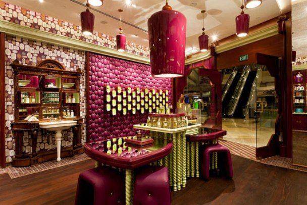 Perfume boutique unique design concept boutique layouts for Cool boutique