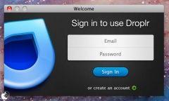 無料で1GBまで利用出来るMac用ファイル共有サービスアプリ「Droplr」
