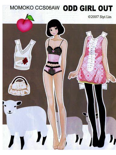 Momoko Paper Doll - Yakira Chandrani - Picasa Web Albums