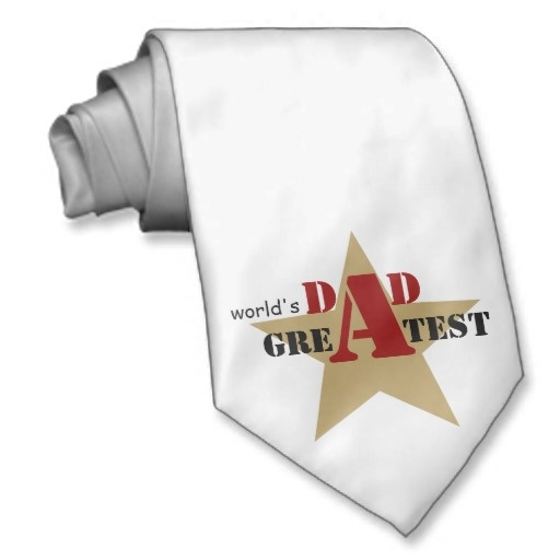 World's Greatest Dad #tie #fathersday, #dad, #Worldsgreatestdad, #necktie, #star #black #red  See more #gifts here http://www.zazzle.com/zazzleproducts1?rf=238228936251904937=zBookmarklet
