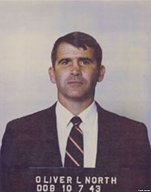 US Marine Lt.Col. Oliver North, who did the dirty work for Reagan, trading weapons to Iran in exchange for our US Embassy Hostages