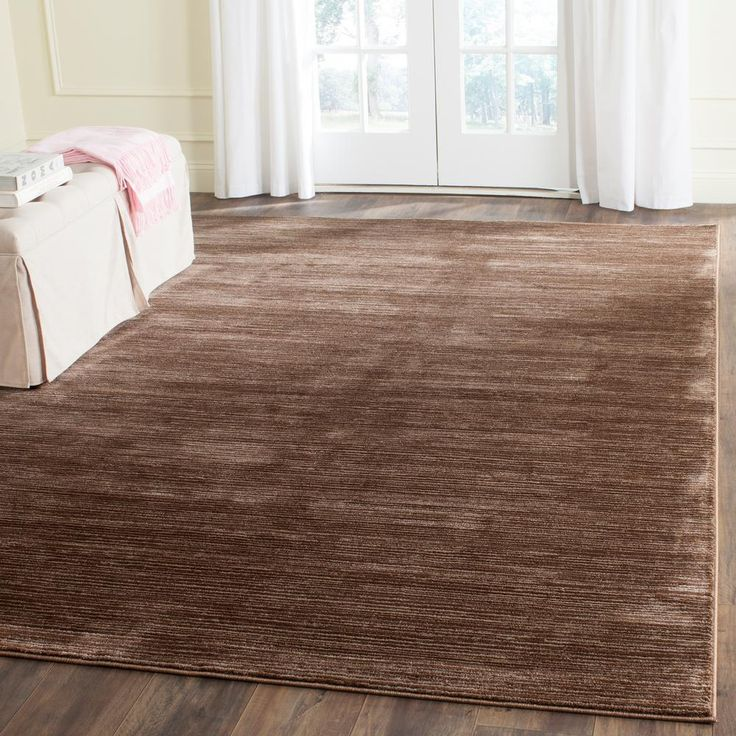 Vision Brown 6 Ft. X 9 Ft. Area Rug Part 49