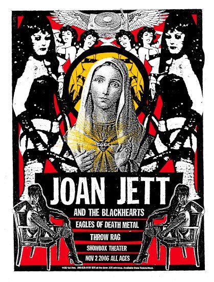 Joan Jett and the Blackhearts #JoanJett&TheBlackHearts #EpicRights