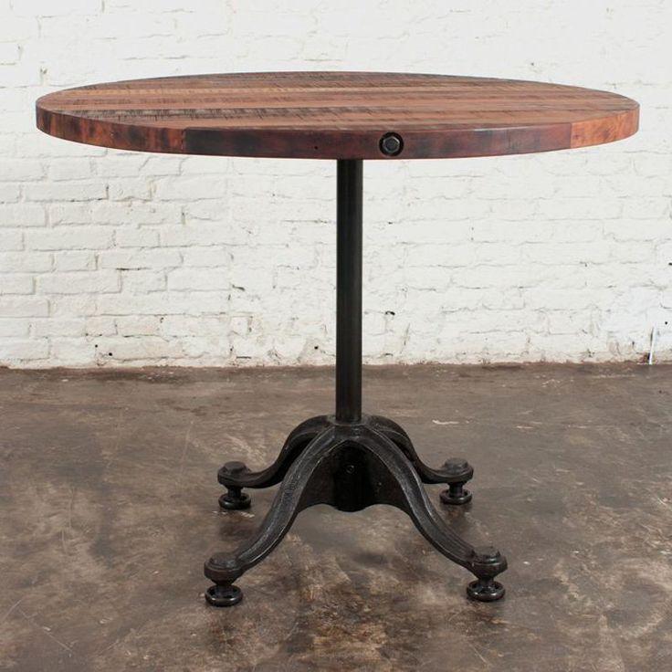 Beautiful High Round Bar Table