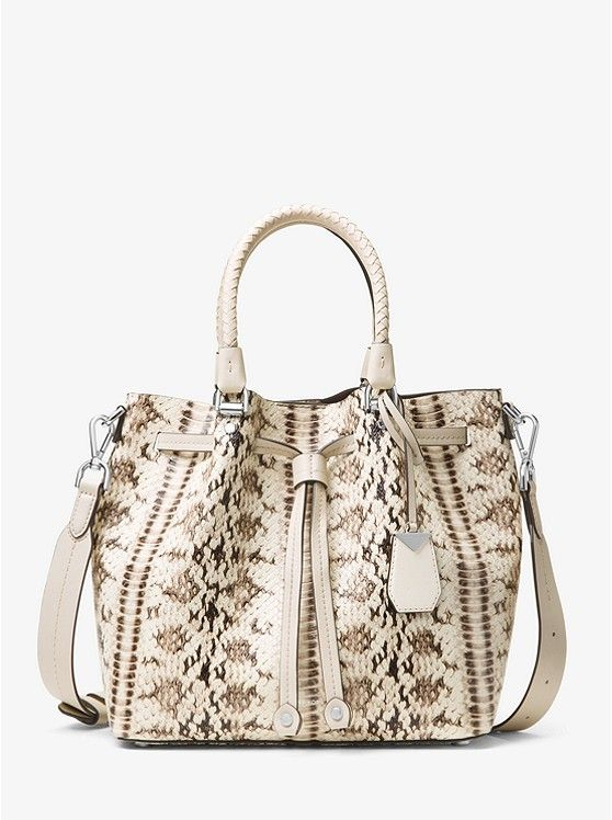 f6ad31ad6211 Blakely Snake-Embossed Leather Bucket Bag_preview0 | Bag B*tch ...