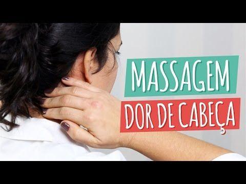 Para fazer uma massagem na cabeça e aliviar a dor deve fazer movimentos circulares nas têmperas, nuca e topo da cabeça durante pelo menos 2 minutos.