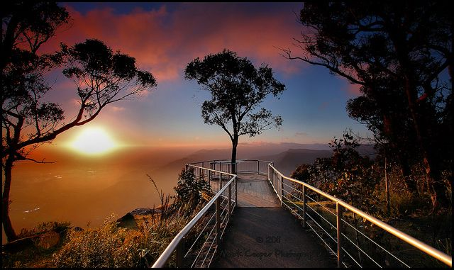 Sunrise from Boroko Lookout, Mount Difficult - Grampians National Park, Halls Gap, Victoria