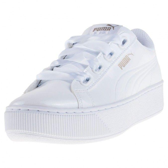 women's puma vikky platform sneakers