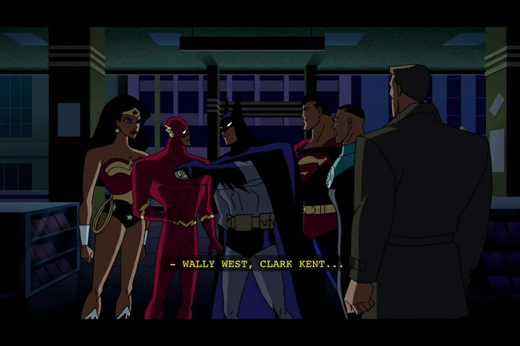 Okay so I got to thinking. Wally West was Flash in Justice League, but ...