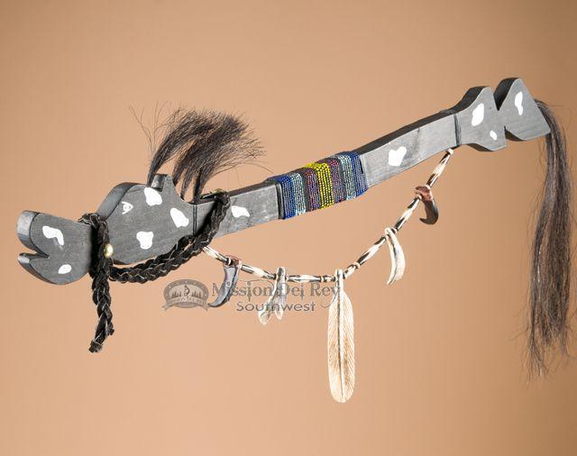 Painted Pony Mescalero Talking Stick