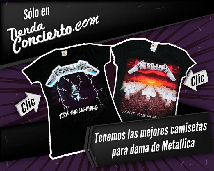 Camisetas de Metallica