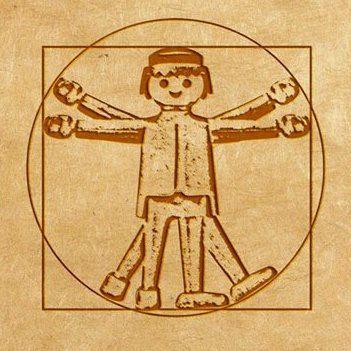 Homem Vitruviano, de Leonardo Da Vinci