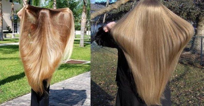 После этой маски для волос волосы растут как сумасшедшие!