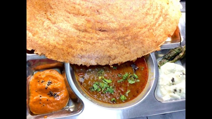 Bombay chaat and Dosa
