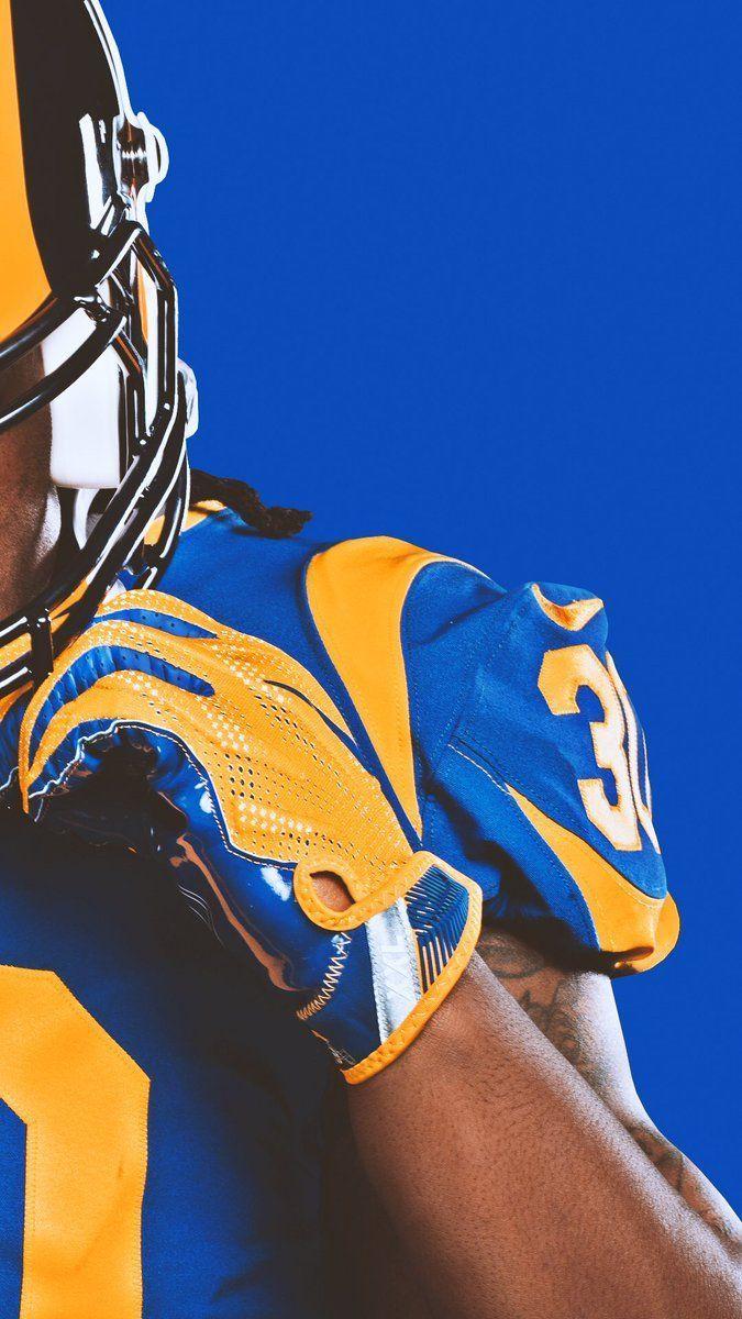 Los Angeles Rams On Angeles Los Rams American Football Los Angeles Rams Rams Football