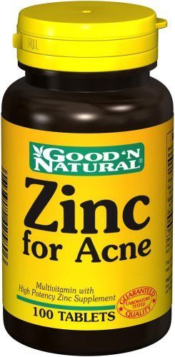 $8.69 Zinc for Acne tablets offers a combination of skin-enhancing ingredients such as Vitamins C, B-6, A and E with Zinc, in one convenient blend. This unique formula was developed to be taken as a supplement.