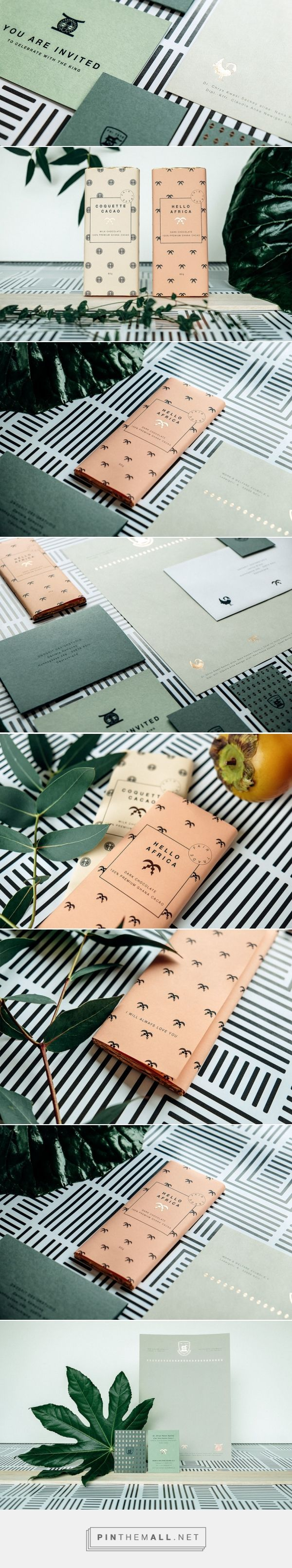 King Nana K. Owusu Stationery — The Dieline - Branding & Packaging Design - created via https://pinthemall.net