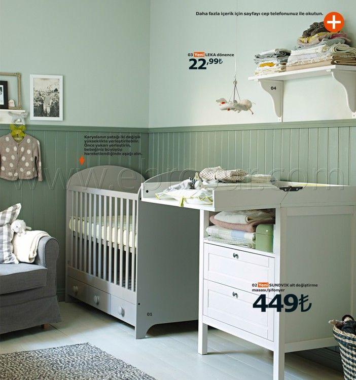 Ikea Kataloğu 2015: Güne Güzel Başlayın! Yeşil Bebek Odası