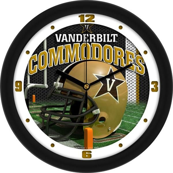 New - Vanderbilt Commodores-Football Helmet Wall Clock