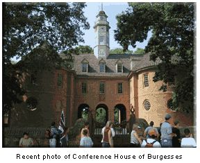 Conference House of Burgesses