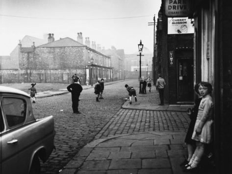 Playing Cricket in the Street - Salford, 1962 Shirley Baker