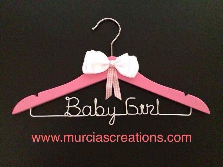 """""""Baby Girl"""" Coat Hanger"""