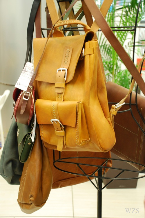 red oker bags