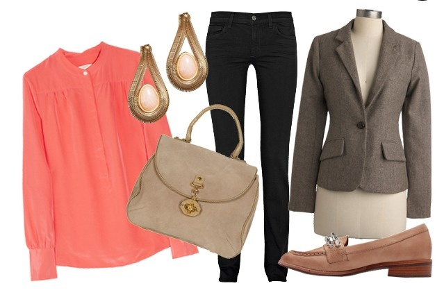 Love this look for holiday shopping!